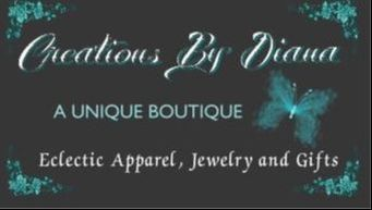 Welcome to Creations By Diana, A Unique Boutique 210 Main Street, Marble Falls, TX 78654 830-798-9650, please call for availability, Site underconstruction!!